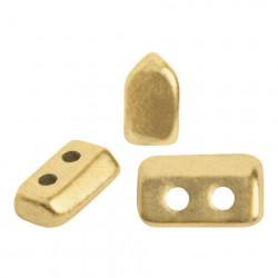 Perles Piros ® par Puca® Light Gold Mat (X5gr)