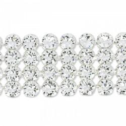 Crystal Mesh Swarovski 40001 2 Cabochons Crystal (X 1)