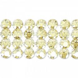 Crystal Mesh Swarovski 40001 2 Cabochons Crystal Golden Shadow (X 1)