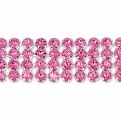 Crystal Mesh Swarovski 40001 2 Cabochons Rose (X 1)