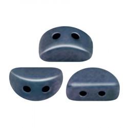 Perles Kos® par Puca® 3x6mm Metallic Mat dark Blue (x5gr)