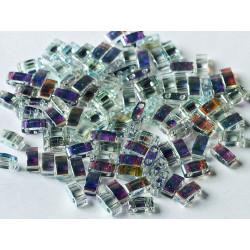 TLH55025 Tila 1/2 Crystal Blue Rainbow (X5gr)