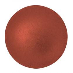 Cabochon Verre 25mm Bronze Red Mat (X1)