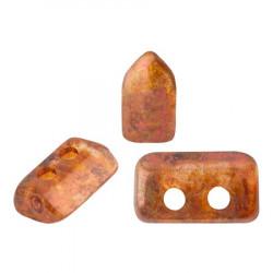 Perles Piros ® par Puca® Crystal Copper Spotted (X5gr)