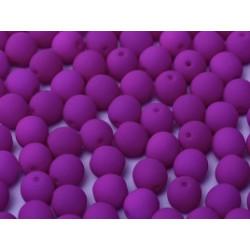 Perles Bohème 2 mm Néon Dark Purple (X1200 perles)