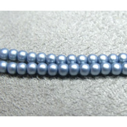 Perles Matted 2 mm Cerulean Satin (X1200 perles)