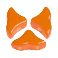 Perles Hélios® Par Puca® 5X7mm Opaque Apricot (x5gr)