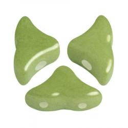 Perles Hélios® Par Puca® 5X7mm Opaque Pistachio (x5gr)