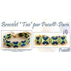 Kit Bracelet Tao par Puca® Curaçao Pistachio