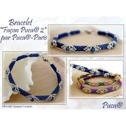 Kit Bracelet Façon Puca par Puca® couleur delicas et sorbet au choix