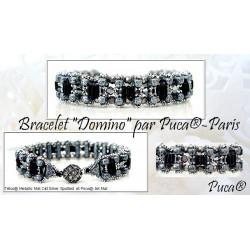 Schéma Bracelet Domino par Puca®