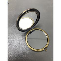 Miroir Rond métal  Bronze 70mm (X1)