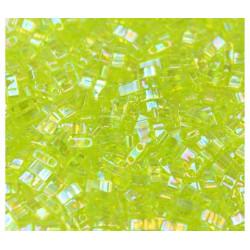 TLH0258 Tila 1/2 Cut Transp Chartreuse Ab (X5gr)