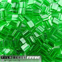 TL-0146 Tilas Bead 5mm Tr Green (x 5gr)