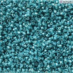 DB2513 Delicas 11/0 Duracoat Galvanized Capri Blue (x 5gr)