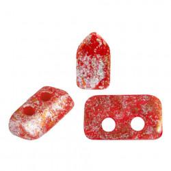 Perles Piros ® par Puca® Opaque Red New Tweedyh (X5gr)