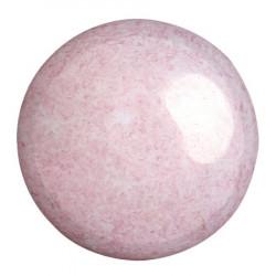 Cabochon Verre 25mm Opaque Light Rose Ceramic (X1)