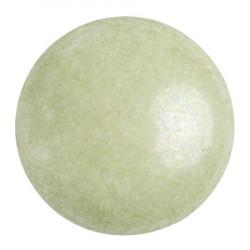 Cabochon Verre 25mm Opaque Light Green Ceramic Look (X1)