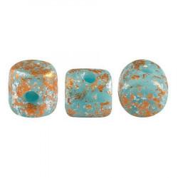 Perles Minos® Par Puca® Opaque Aqua Tweedy (x5gr)