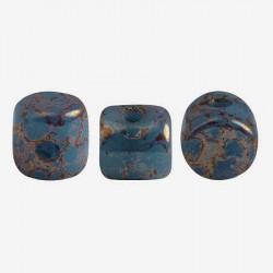 Perles Minos® Par Puca® Opaque Aqua Bronze (x5gr)