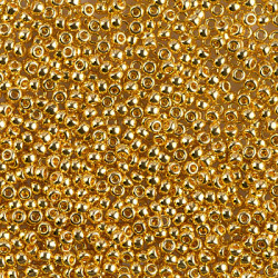 R11-0193 Rocailles 11/0 Gold (x 5gr)