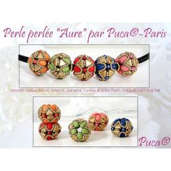 Schéma Perle Aure par Puca® Anglais