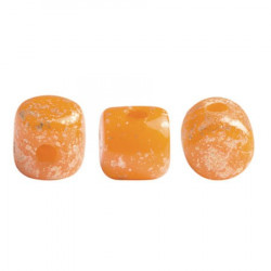 Perles Minos® Par Puca® Orange Opal Splash (x5gr)