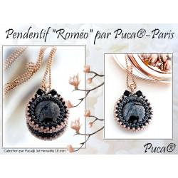 """Schéma Pendentif """"Roméo"""" par Puca® Français"""