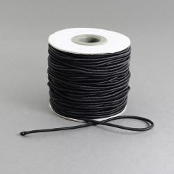 Fil Elastique noir 1.5mm (X1m)