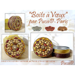 Kit Boite à Voeux par Puca Gold