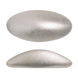 ATHOS PAR PUCA® CABOCHON OVAL 20X10 MM - METALLIC MAT BEIGE (X1)