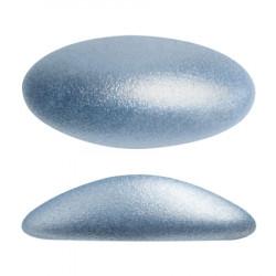 ATHOS PAR PUCA® CABOCHON OVAL 20X10 MM - METALLIC MAT LIGHT BLUE (X1)