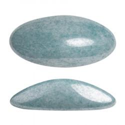 ATHOS PAR PUCA® CABOCHON OVAL 20X10 MM - OPAQUE BLUE CERAMIC LOOK (X1)