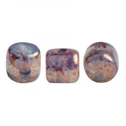 Perles Minos® Par Puca® Blue Green Opal Bronze (x5gr)