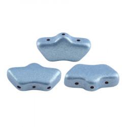 Perles Delos® 6x11mm Metallic Mat Light Blue par Puca® (5gr)