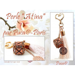 """Schéma Perles """"Atina"""" par Puca® Français"""