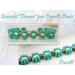 """Schéma Bracelet """"Oriana"""" par Puca® Anglais"""