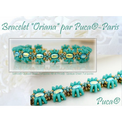 "Schéma Bracelet ""Oriana"" par Puca® Italien"