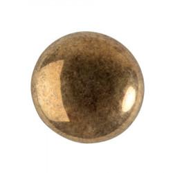 Cabochon Verre 18mm Dark Gold Bronze (X1)