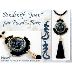 """Schéma Pendentif """"Juan"""" par Puca® Version anglais"""