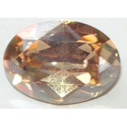 Cabochon oval 4120 8x6mm Crystal Golden Schadow F (x1)