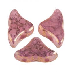 Perles Hélios® par Puca® 5x7mm Rose Opal Bronze (x5gr)