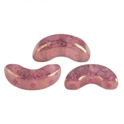 Perles Arcos® Par Puca® Rose Opal Bronze (5gr)