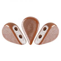 Perles Amos® par Puca® 5x8mm Opaque Choco Luster (5gr)