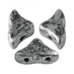 Perles Hélios® par Puca® 5x7mm Old Silver (5gr)