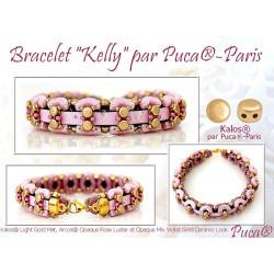 Schéma Bracelet Kelly par Puca® Français