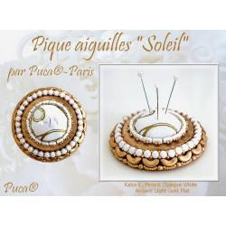 Schéma Pique Aiguilles Soleil par Puca® Français