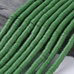 Perles Heishi Polymère Sapin 46 6x1mm (x1fil)