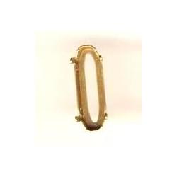 Sertissure couleur Bronze pour 4161 21X7 mm (X1)