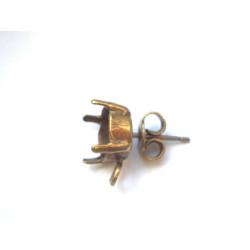 Boucle Strass 1028 SS39 Bronze 8mm (X2)